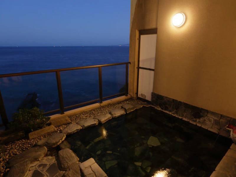 【渚の湯】貸切露天風呂