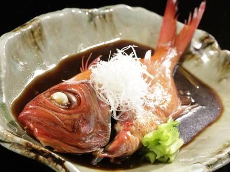 【大切な記念日】特別お祝い会席/一例。金目鯛の煮付けはこだわりの一品です