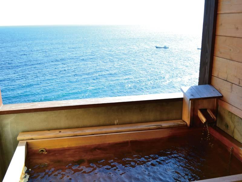貸切風呂(檜風呂1)/夜中も入浴可能!※入浴時間:15:00-10:00