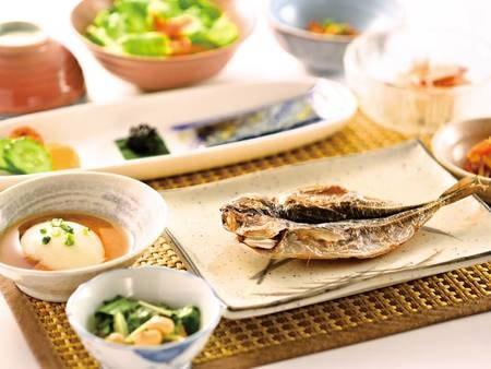 【朝食/和食の例】和食または洋食をグループ毎に選択