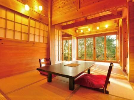 【露天付き離れ/FUJIYAMA】富士山を望む贅沢な空間