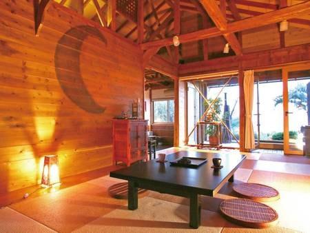 【露天付き離れ/BALI庵】オリエンタルな雰囲気が魅力の贅沢な空間