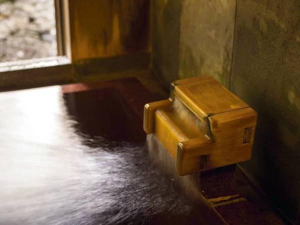 【デラックス客室/例】かけ流しの内風呂付客室