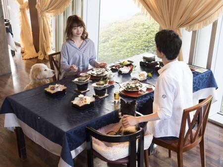 【愛犬との夕食/例】