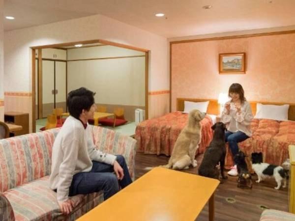 2室限定,最上階&55㎡以上の特別和洋室/一例