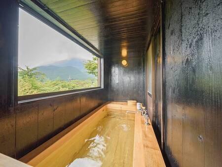 【特別室】由布岳が見える檜風呂/一例