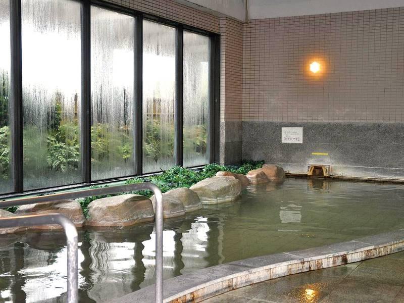 【大浴場】サウナも完備!
