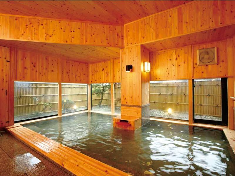 【太郎天の湯】宿泊者専用の湯船でのんびり天然温泉を堪能!