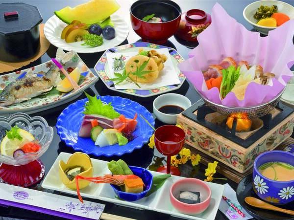 【【梅】風雅(ふうが)プラン/例】量は控えめだけど、いろいろな料理を楽しめる