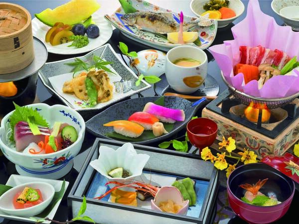 【【竹】涼雅プラン/例】地産料理を使ったスタンダード会席