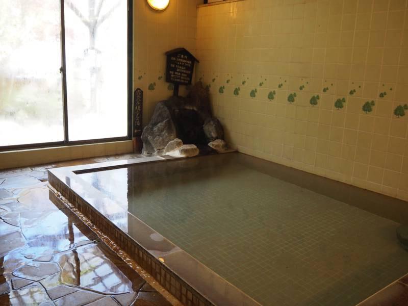 【内湯/女湯】宝泉寺のやわらかい温泉をごゆっくりと楽しむ