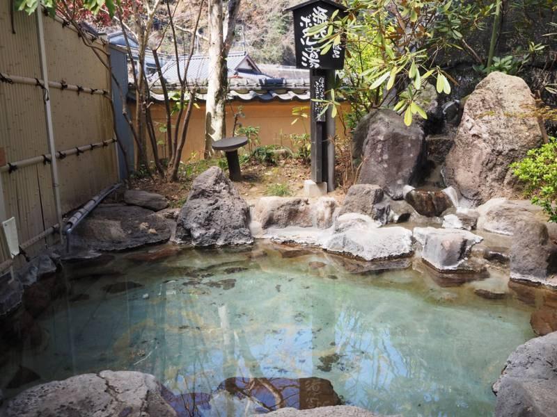 【露天風呂】源氏ボタルの湯(男湯)