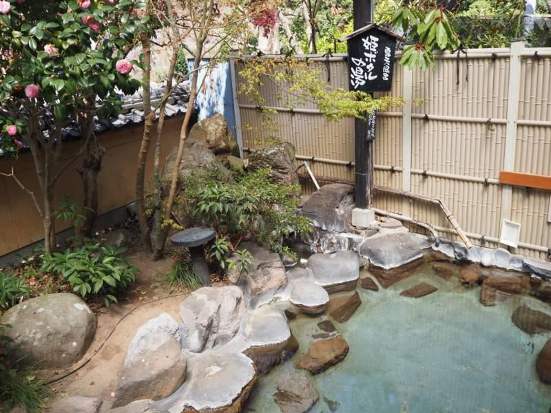 【露天風呂】姫ボタルの湯(女湯) 1階