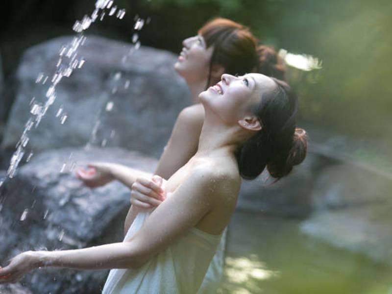 【大露天「べっぴんの湯」】冬季もご入浴いただけます♪
