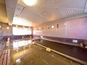 【館内大浴場】自家源泉の湯を愉しむ