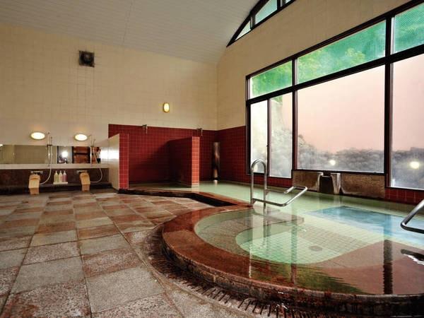 【大浴場】やわらかい泉質の美人の湯