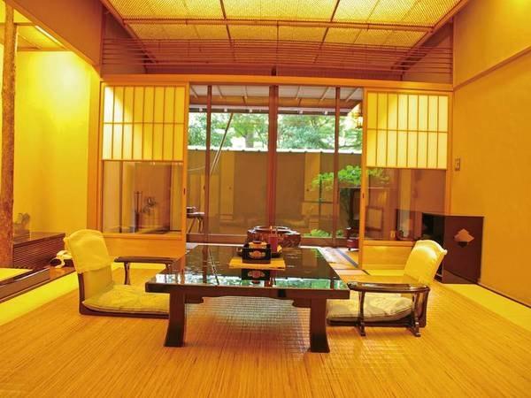 和室【庭園側和室8畳+控えの間】