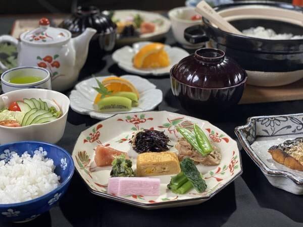 【朝食/例】お目覚めにやさしい風味の和食御膳をお召し上がりください