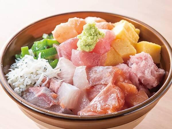 朝食_のっけ丼(例)