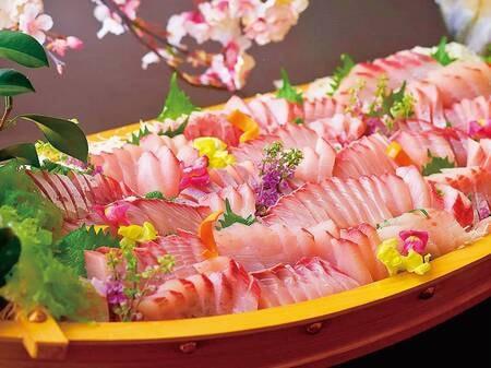 【6/1~7/21】夏の料理フェア 朝どれお刺身 (写真は一例)