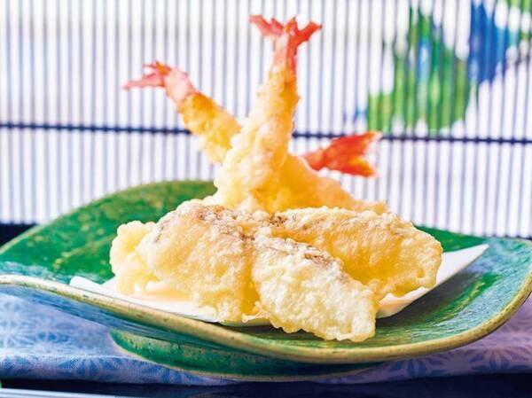 【6/1~7/21】夏の料理フェア 鰈とえびの天ぷら(写真は一例)