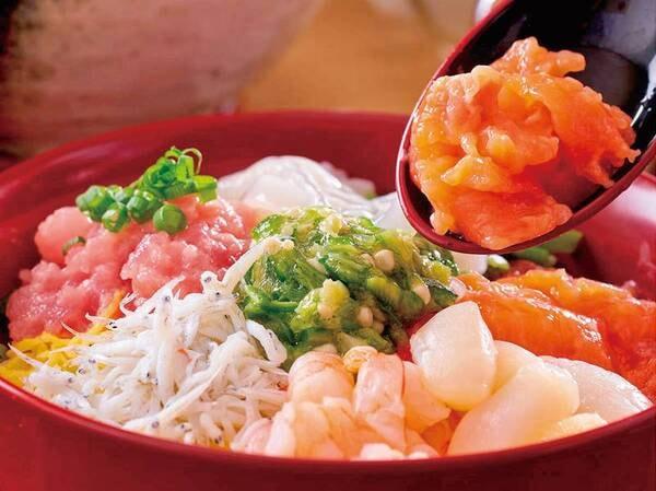 【6/1~7/21】夏の料理フェア 海鮮のっけ丼(写真は一例)