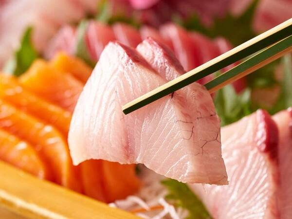 【9/1~11/30】秋の料理フェア 朝どれ鮮魚のお造り ※イメージ