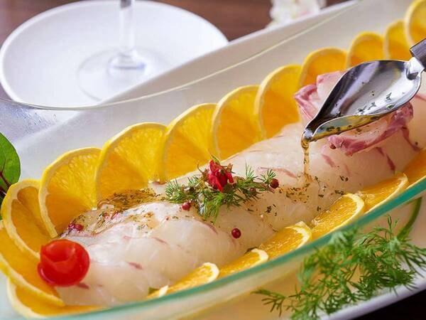 【9/1~11/30】秋の料理フェア 鯛のカルパッチョ ※イメージ