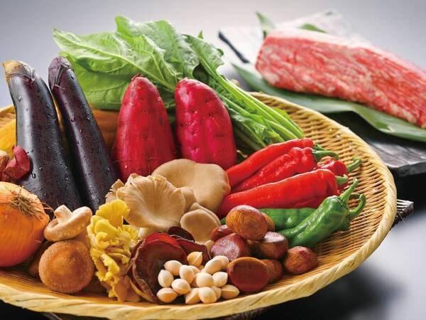 【食材/例】その日手に入る旬の新鮮な食材を使用