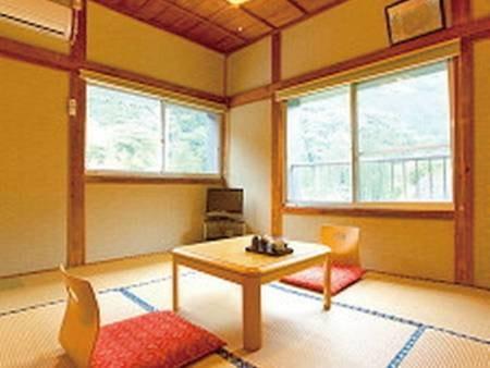6畳和室は全4室で全て2階/客室例