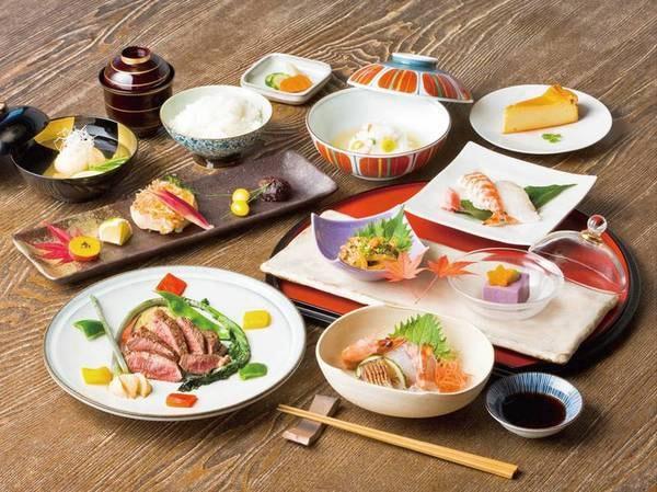 【1泊2食付/例】旬の食材を使用した会席