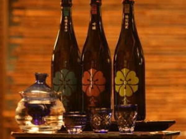日本酒飲み比べセット付 /例