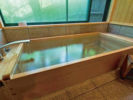 【客室内風呂/例】全ての客室に檜風呂