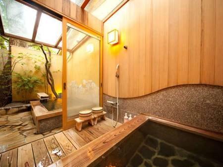 【内湯+露天風呂付客室:さざんか/例】