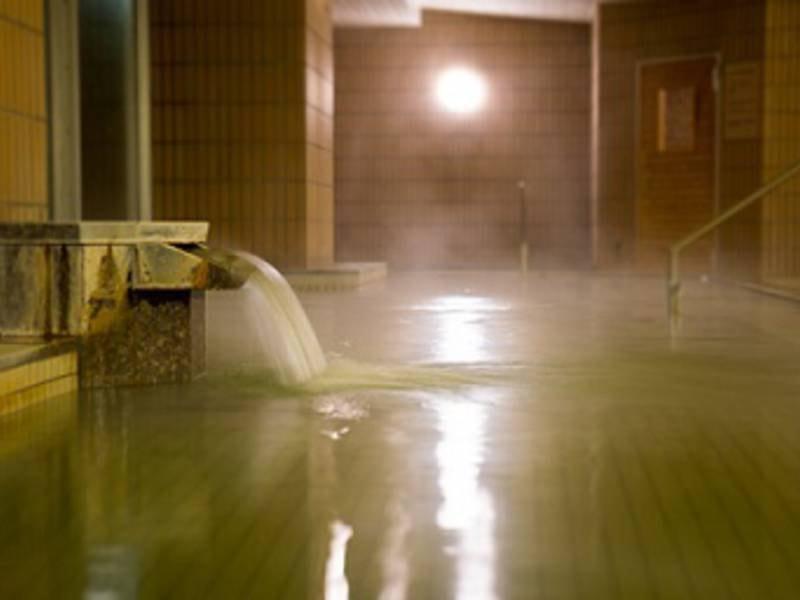 【大浴場】別府温泉でゆったり♪