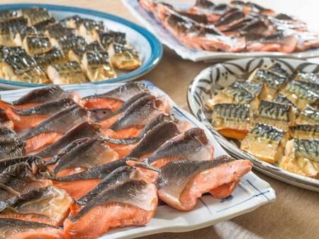【7/20からのご宿泊(7/21の朝食)の場合/例】2Fバイキングレストラン「別府ボールドキッチン」での和洋バイキングでご用意致します