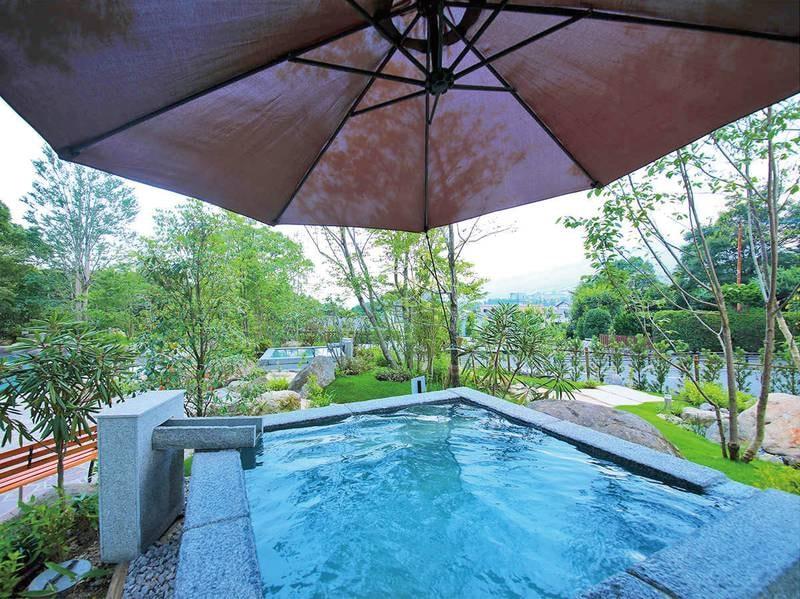 【庭園風呂】日本一のおんせん県 別府の天然温泉を堪能