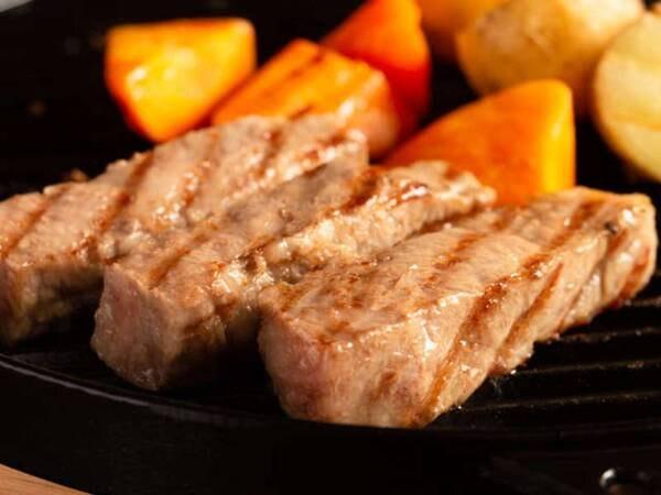 豊後牛頂(いただき)ステーキ/一例