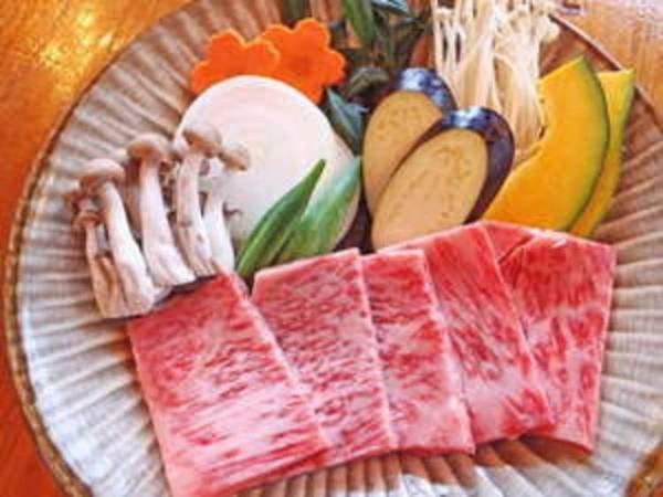 【夕食のみ】豊後牛陶板焼き会席/一例