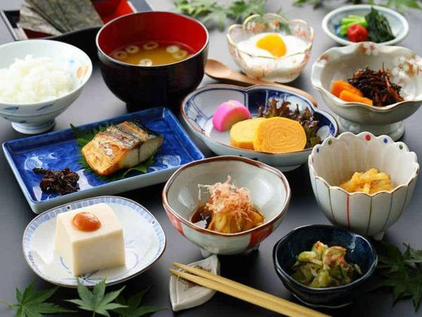 【朝食一例】和定食をご用意