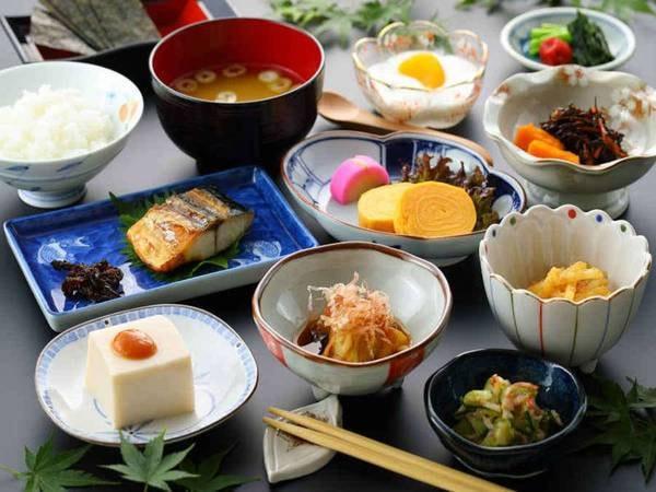 【朝食】和定食をご用意