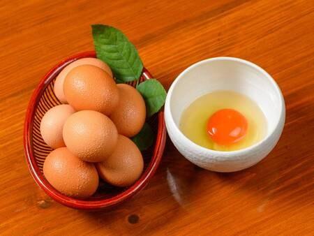 【朝食/一例】 こだわり卵は別府の「蘭王」を使用