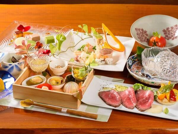 【夕食/一例】季節を彩る和食創作会席