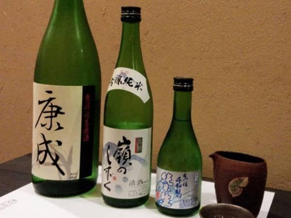 【利き酒付き】地元の蔵元・佐藤酒造による3種類の地酒がおちょこに1杯ずつ堪能!
