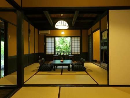 【客室】広々12.5畳の離れ和室をご用意