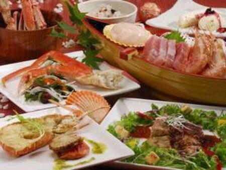 【贅沢三昧コース/一例】人気NO.1の極上シーフード料理をご用意します!