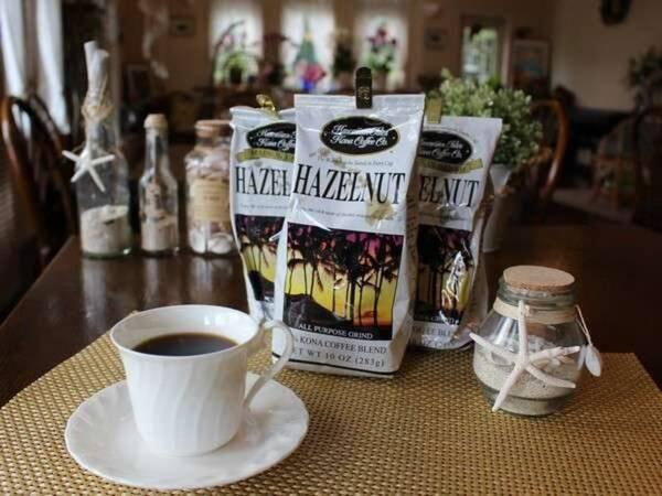 【朝食/一例】当館人気のハワイアンコナコーヒーをご用意します