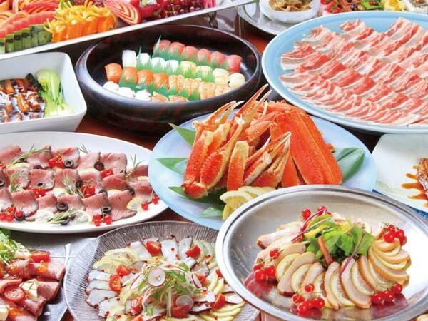 【夕食/例】約50種の和洋中バイキング!