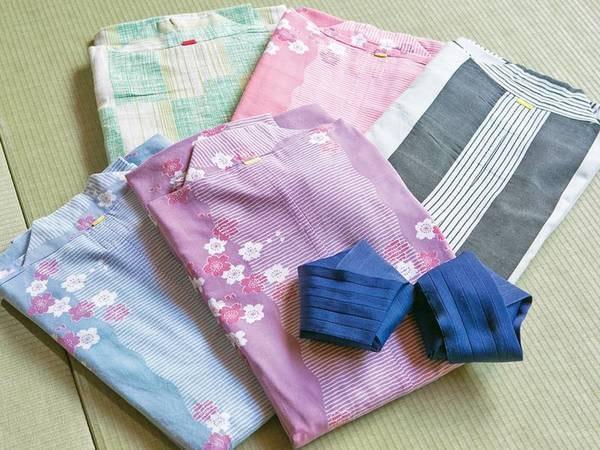 選べる色浴衣/例