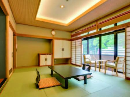 【客室/例】広縁付きの10畳以上和室(洗浄機能トイレ付)をご用意